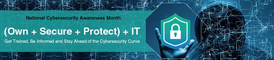 National Cybersecurity Month is October