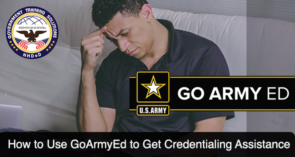 How to Use GoArmyEd to get Army COOL Credentialing Assistance Shout