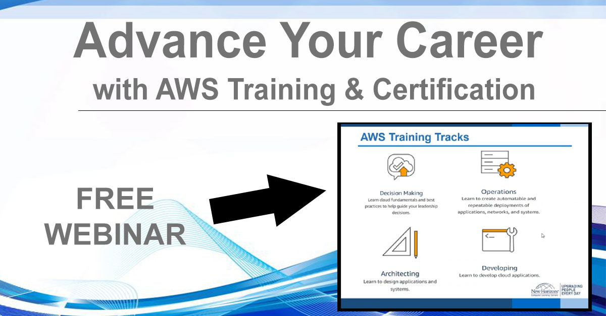 NHLG x Advance Career with AWS Youtube Image